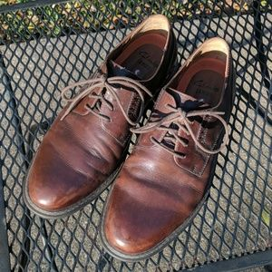 Clarks Unstructured Brown Men's Dress Shoes